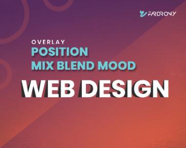 Overlay position mix blend mood
