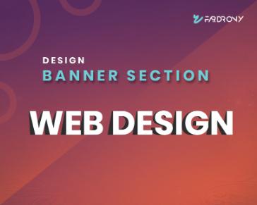Banner section Design