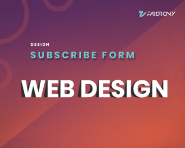 Design Subscribe Form Section