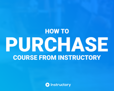How you can buy your favorite tutorial from Instructory!