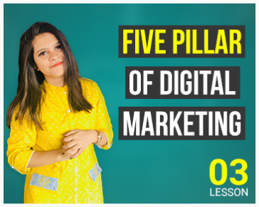 Lesson Three: Five Pillar of Digital Marketing