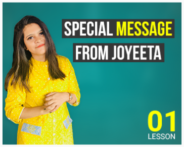 Lesson One: Special Message from Joyeta