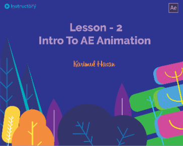 Lesson 2 : Intro To After Effects Animation