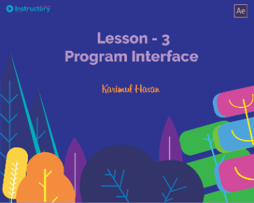 Lesson 3 : Program Interface