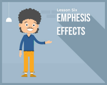 Lesson 6 : Emphesis effects