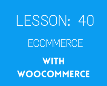 lesson 40 Woocommerce ( part 03) setting, coupon, shipping