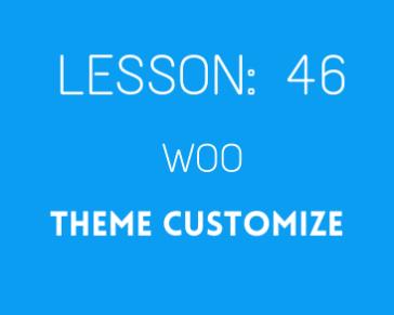 lesson 46 Woocommerce Mega menu setup ( theme customize part 04)