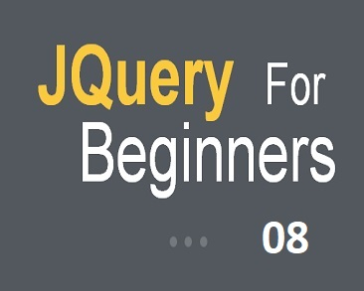 Part 8 (JQuery Effects: fadeIn, fadeOut, fadeToggle, fadeTo)