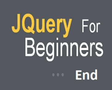 JQuery For Beginners End