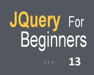 Part 13 (JQuery CSS)
