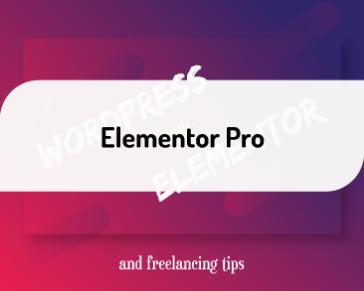 Bonus Video: Elementor Pro