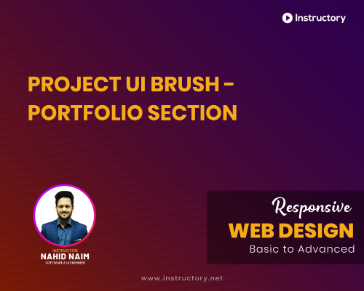 Project UI Brush - Portfolio Section