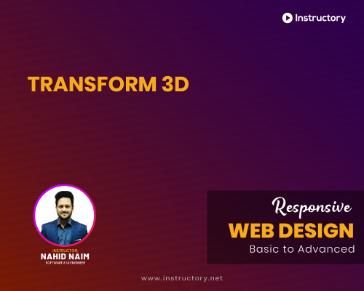 Transform 3D