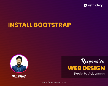 Install Bootstrap