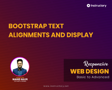 Bootstrap Text Alignments and Display
