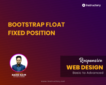 Bootstrap Float Fixed Position