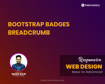 Bootstrap Badges Breadcrumb