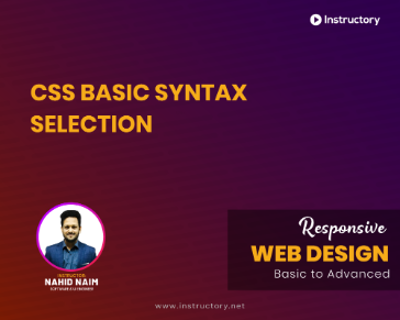 CSS Basic Syntax and Selectors