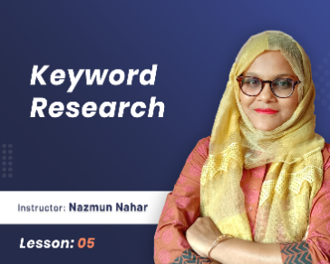 7 Steps overview of  keyword research