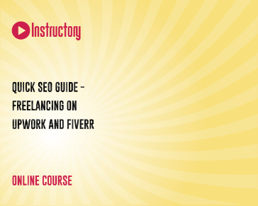 Quick SEO Guide - Freelancing on Upwork and Fiverr