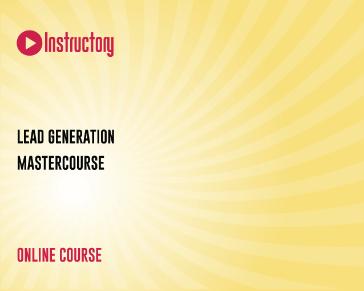 Lead Generation Mastercourse