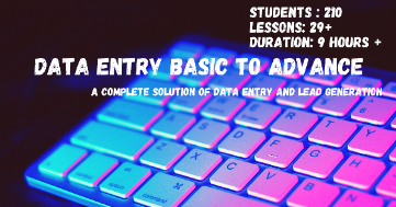 Data Entry Basic to Advanced post image