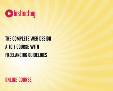 The complete web design a to z course with freelancing guidelines