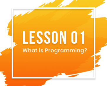 Lesson-01: What is programming?